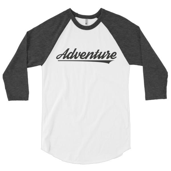 Adventure 34 Baseball Tee All Things Adrenaline